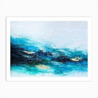 Flourishing Wave Art Print