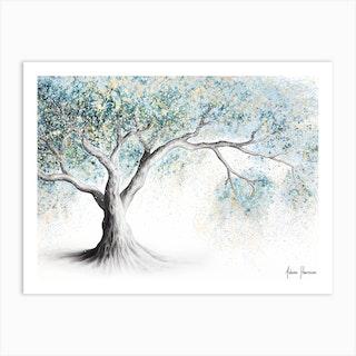 Gentle Frost Tree Art Print