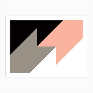 Geometric Abstraction 283 Art Print