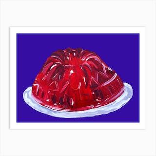 Wobbly Jelly Art Print