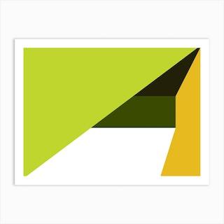 Geometric Abstraction 211 Art Print