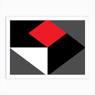 Geometric Abstraction 288 Art Print