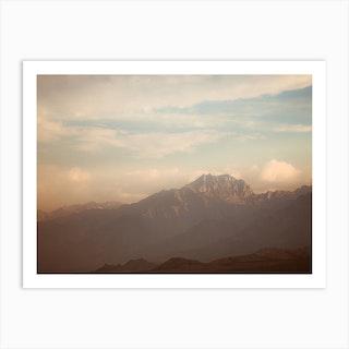 395 Sunset Art Print