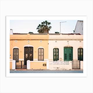 Valencia Houses Art Print