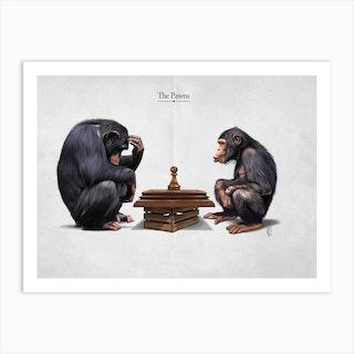 The Pawns Art Print