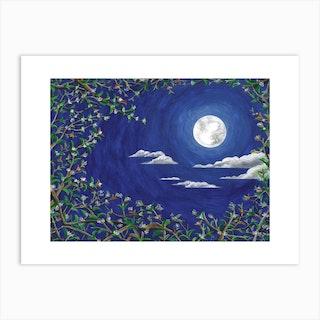 Osmanthus Moonlight Sonata No Art Print