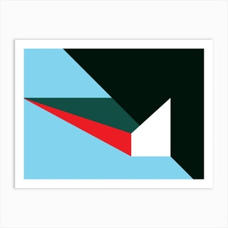 Geometric Abstraction 45 Art Print