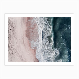 Crashing Waves Art Print