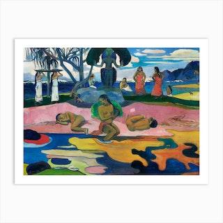 Day Of The God, Paul Gauguin Art Print
