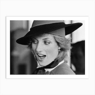 HRH Princess Diana, The Princess of Wales Art Print