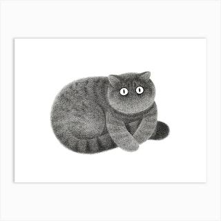 Kitty No58 Art Print
