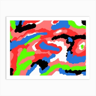 Abstract Composition 6 Art Print