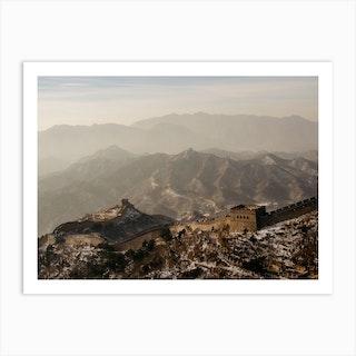 Great Wall Of China 3 Art Print