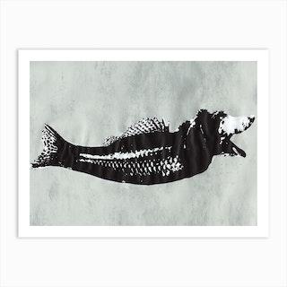 Fish Print Ii Art Print