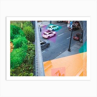 New York Highline Art Print
