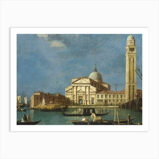 Venice S Pietro In Castello, Canaletto Art Print