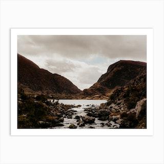 Mountain Stream In Ireland Ii Art Print