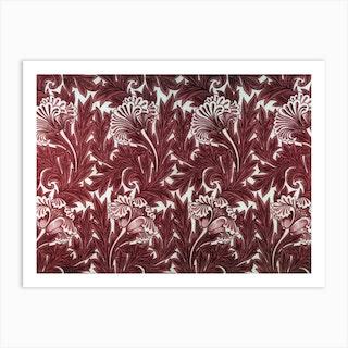 Tulip Chintz, William Morris Art Print