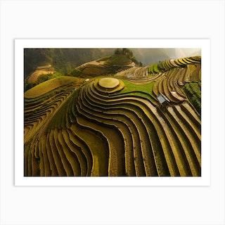 Mu Cang Chai Vietnam Art Print