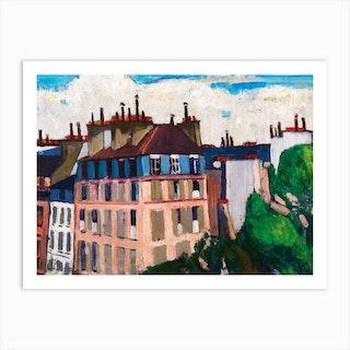 Rooftops, Paris, Henry Lyman Saÿen Art Print