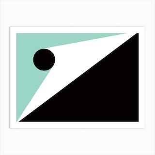 Geometric Abstraction 296 Art Print