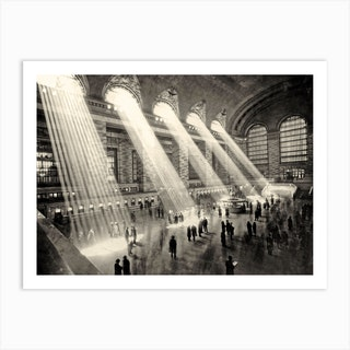 Grand Central Terminal New York C Art Print