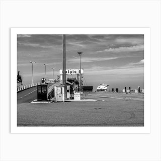 Calais Ferry Terminal Art Print