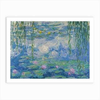 Waterlilies 1916 Art Print