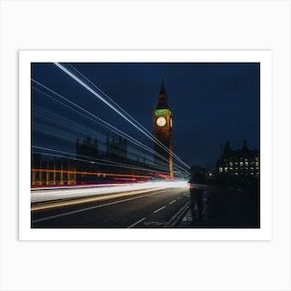 London Trio 1 Big Ben Art Print