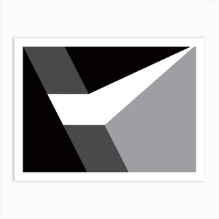 Geometric Abstraction 298 Art Print