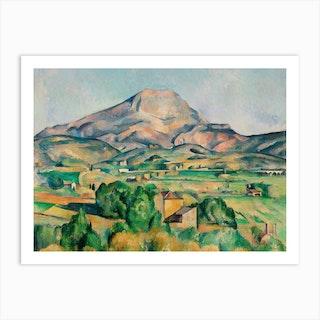 Mont Sainte Victoire 1892–1895, Paul Cézanne Art Print