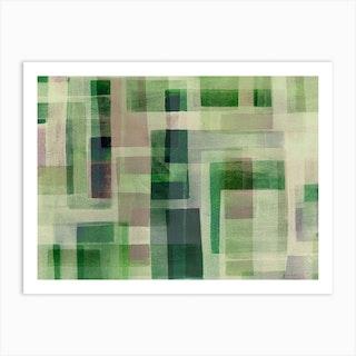 Green Architecture Art Print