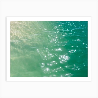 Hawaiian Water X Art Print