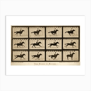 The Horse In Motion Animal Locomotion Art Print