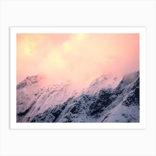 Mount Aspiring National Park, New Zealand Art Print