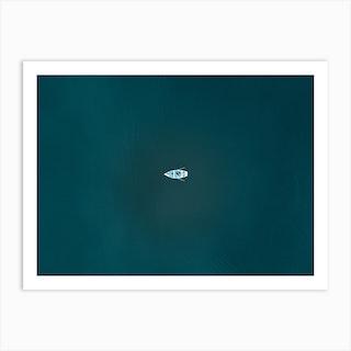 Calm Lake Mornings Art Print