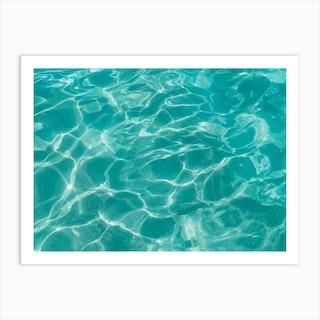 Cabo Water Ii Art Print