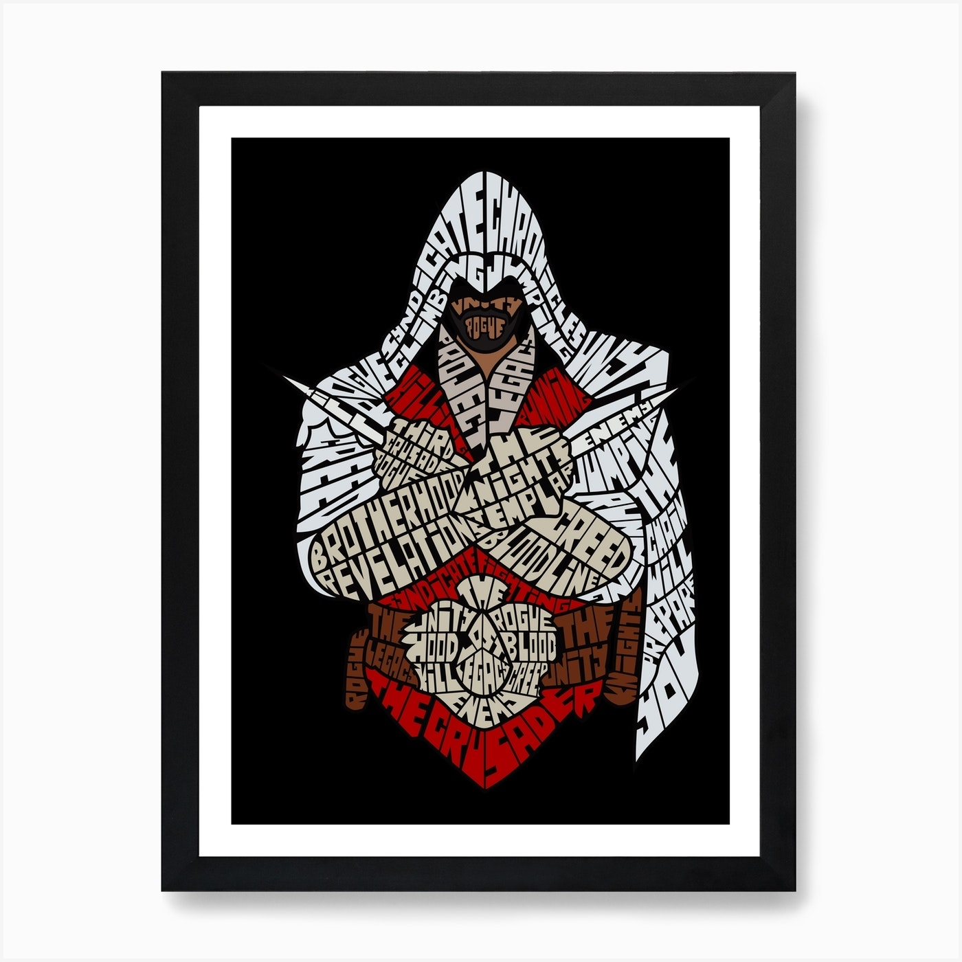 Assassins Creed Art Print By Shane Harrington Fy
