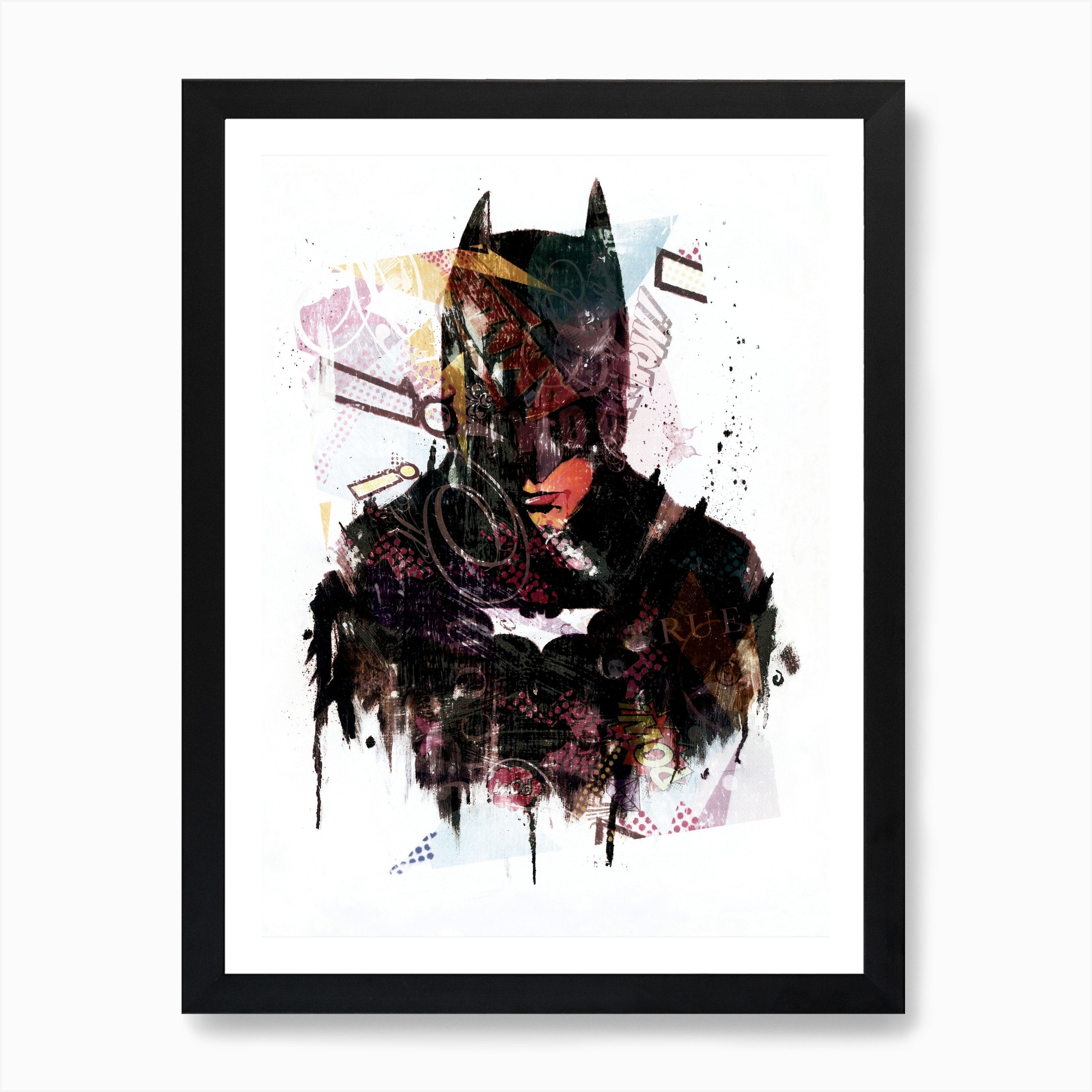 Batman Art Print By Angel London Fy