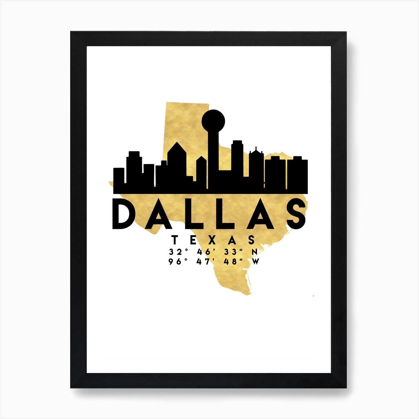 Dallas Texas Silhouette City Skyline Map Art Print on washington dc city map, dfw area map, yoakum city map, princeton city map, dallas old maps, fort worth texas city limits map, university of chicago city map, palestine city map, grimes city map, houston city map, denton city map, greeneville city map, new roads city map, richardson city map, dallas population 2014, lewisville city map, adairsville city map, johnson county city map, ft worth city map, waxahachie city map,