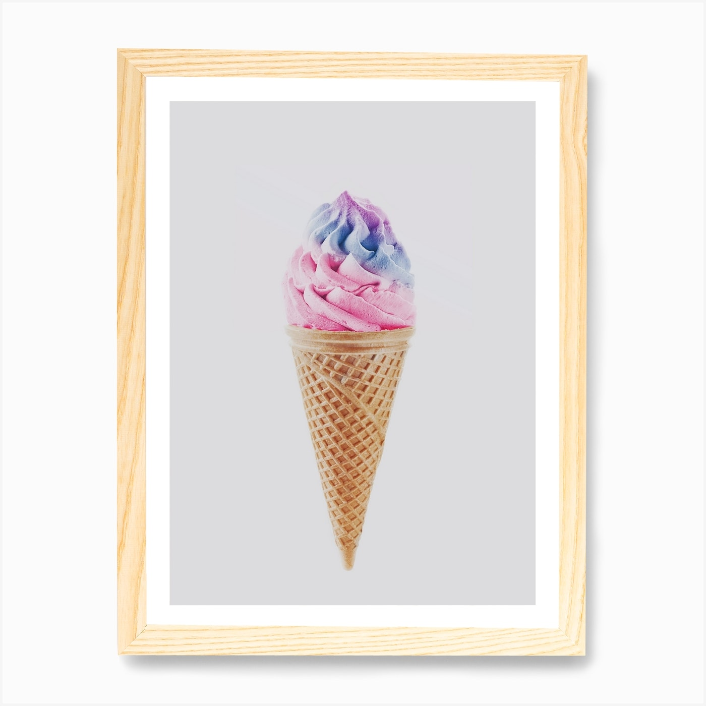 Ice Cream X Art Print By Sisi And Seb Fy
