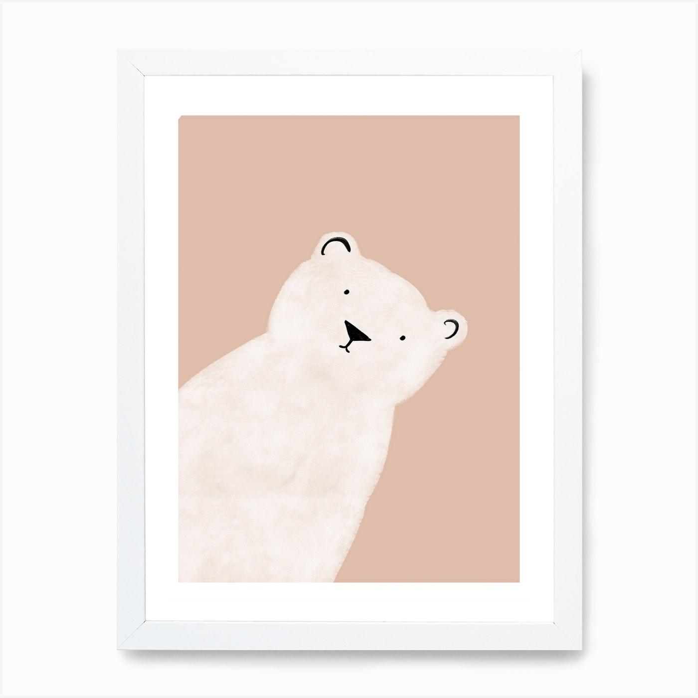 Polar Bear Art Print By Lianne Middeldorp Fy