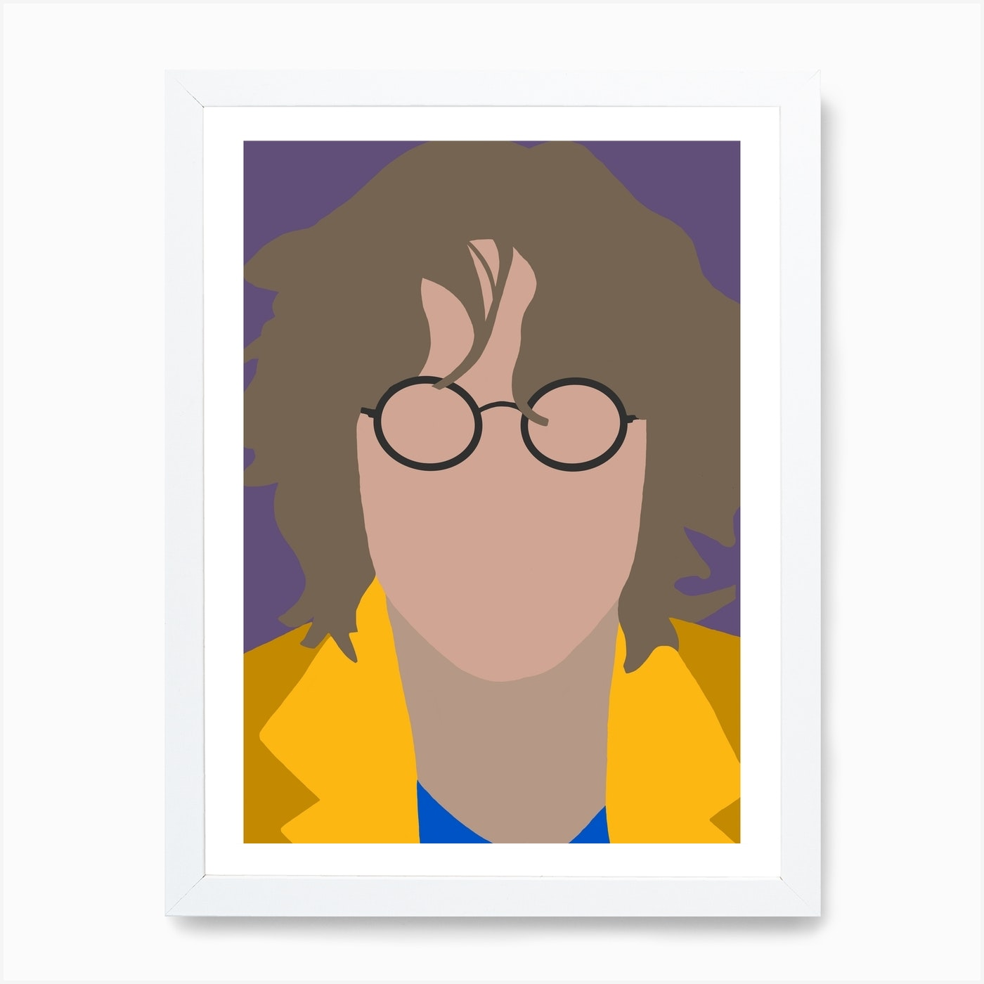 John Lennon Art Print By Oneone Art Fy