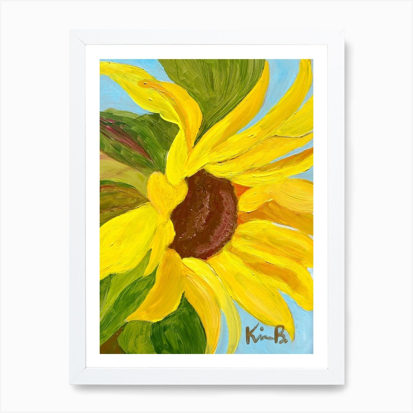 Sunny Art Print By Kim B Originals Fy