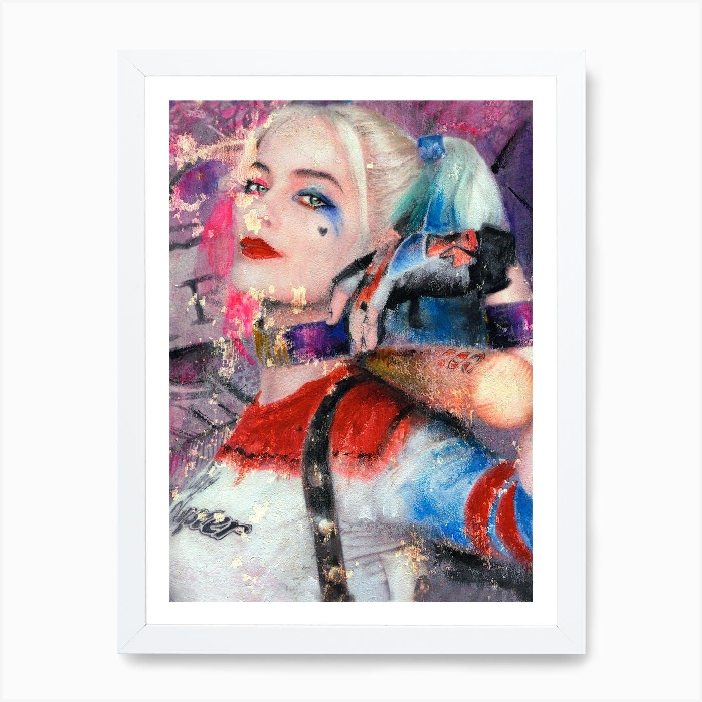 Harley Quinn Art Print By Angel London Fy