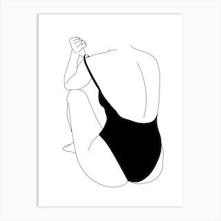 Shy One Art Print