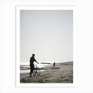Bike Boy Art Print