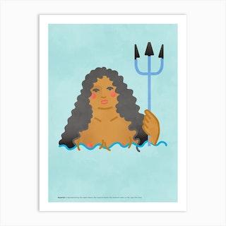 Aquarius 2 Art Print