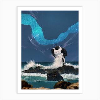 Love Wave Art Print