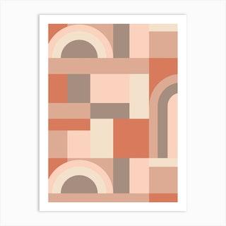 Softy Blocks Art Print